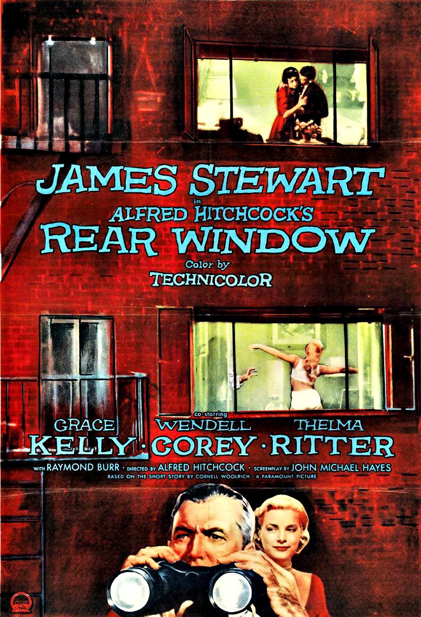 rear window dancing the elephant rear window movie poster 2