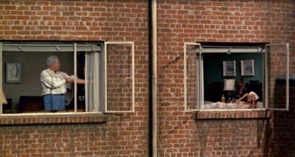 Rear Window-Mr. and Mrs. Thorwald