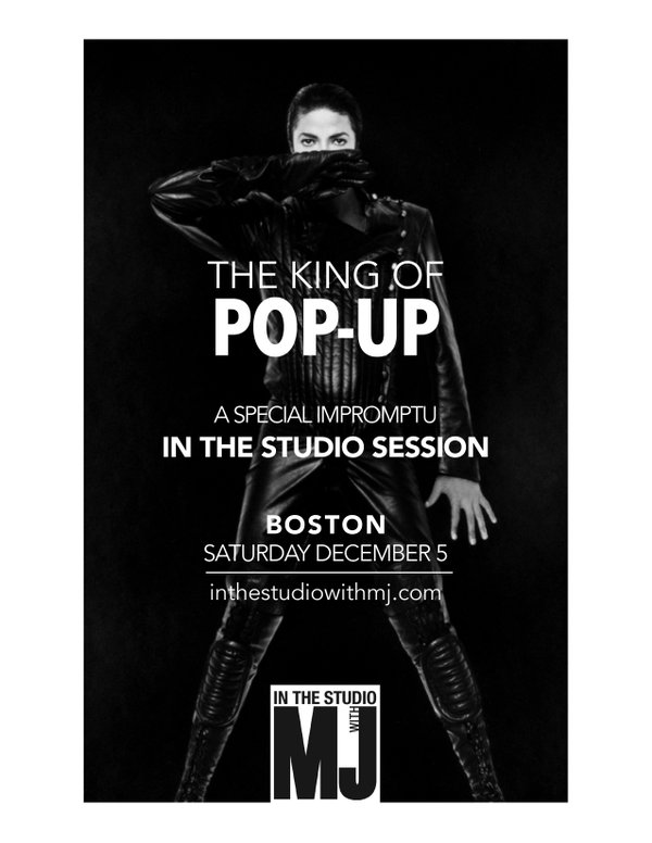 Boston Pop-Up Poster