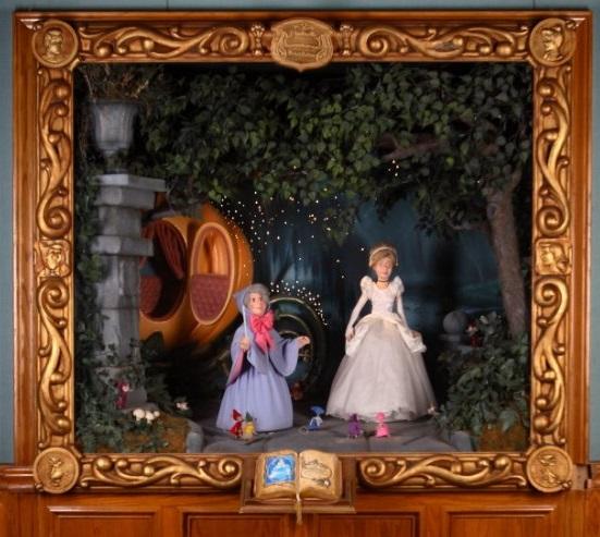 Cinderella diorama 3