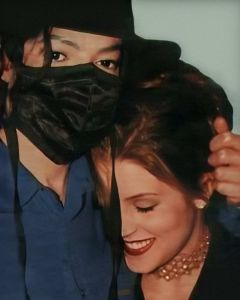 MJ and Lisa Marie
